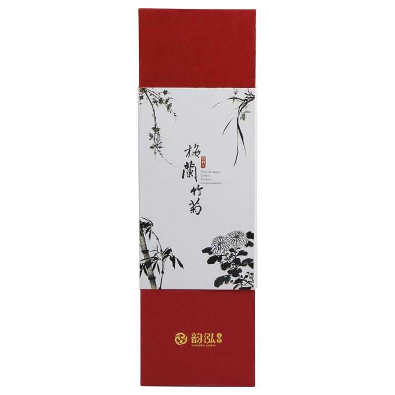 韵泓筷子 上等红酸枝 商务礼品 传统特色 单双装 梅兰竹菊 1102