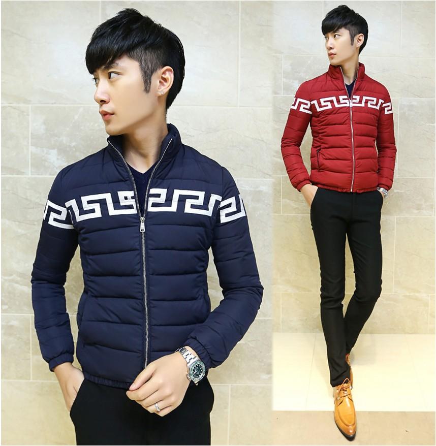 包邮棉衣男士冬装外套韩版修身立领加厚棉袄潮男青年短款棉服保暖