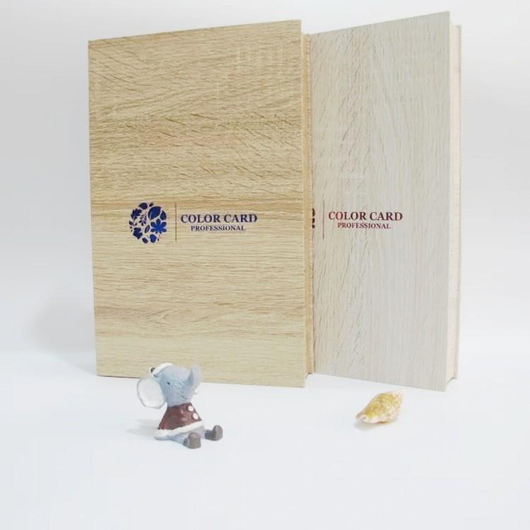 高档木制美甲店专用色卡本高端色板指甲油胶展示版样板卡