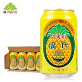 【天猫超市】广氏菠萝啤果味饮料 330ml*24罐碳酸果味啤酒量贩装
