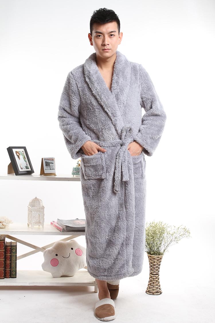 睡袍浴袍珊瑚绒浴袍男性感睡袍浴袍加厚水貂绒睡袍 两件套 女睡衣