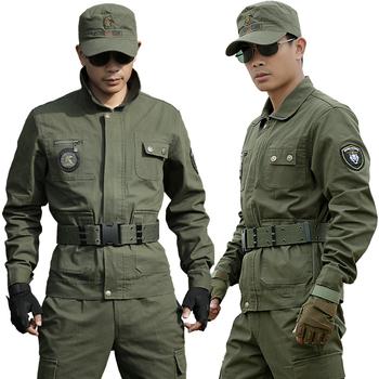 盾郎户外特种兵迷彩服军训服作训服军迷军装套装男女秋冬季工作服