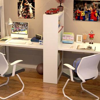 潮土创意现代简易电脑桌高光漆转