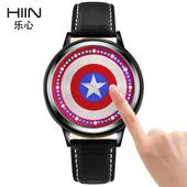 韩版个性创意夜光触控男表女生手表时尚潮流学生表韩国LED电子表