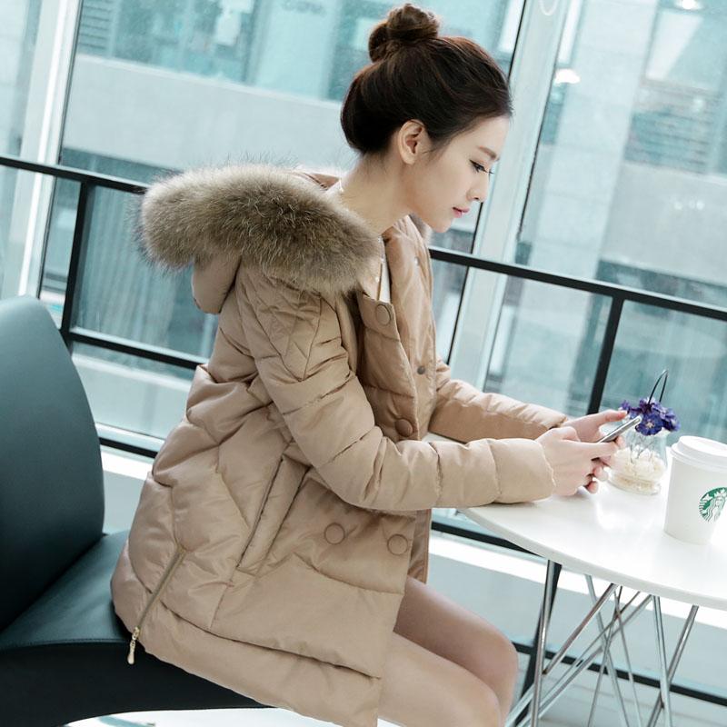 棉衣女冬装2014新款 新款韩版长袖连帽棉袄 短款时尚棉服女外套潮