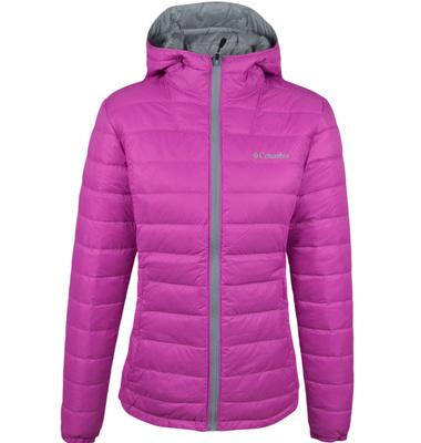 [㊣正品代购] 4色2014秋冬哥伦比亚专柜正品代购女款式保暖双面穿羽绒服PL5019
