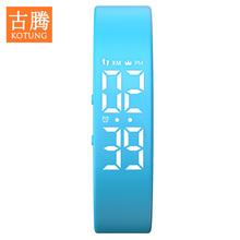 智能计步手环运动手表男情侣女表儿童学生电子表时尚潮流防水手表