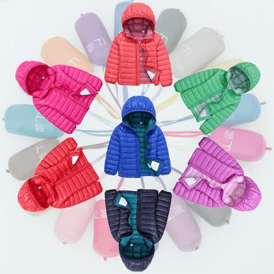 [新年价] 反季清仓2015新款超轻薄儿童羽绒服宝宝男童女童连帽短款童装亲子