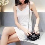 夏季白色吊带背心女内搭中长款吊带裙修身显瘦性感包臀衬裙打底裙