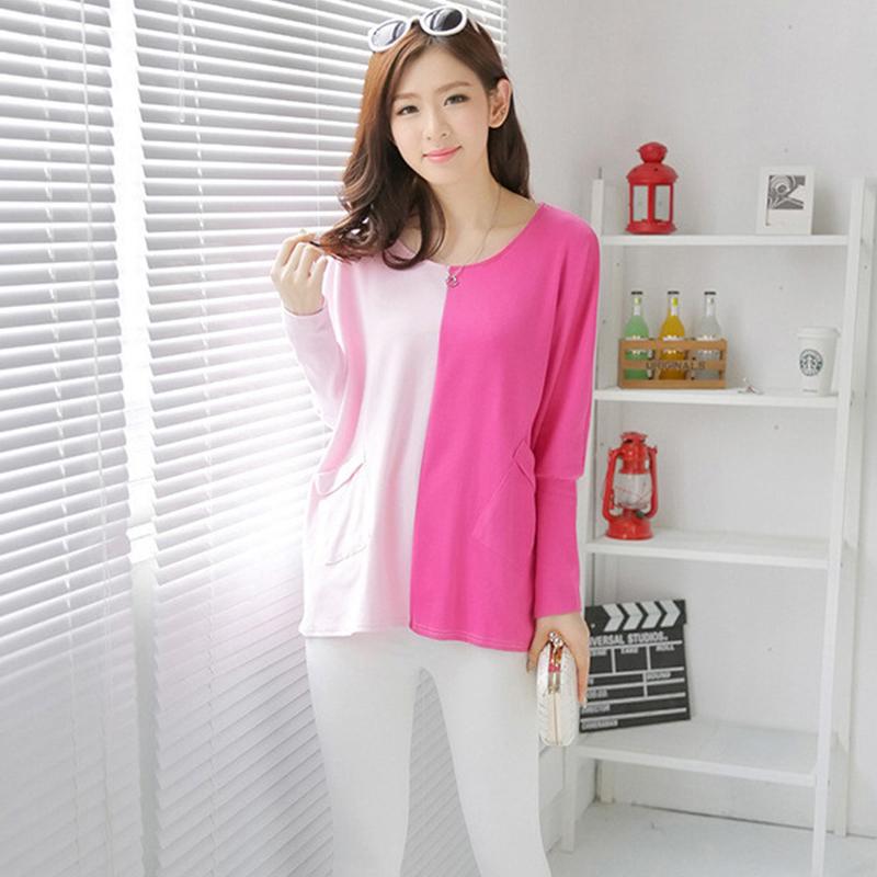 大码新款韩版孕妇裙秋装半身裙长袖卫衣T恤时尚外套孕妇装新款