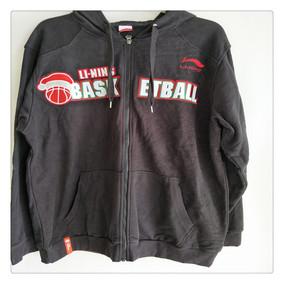 李宁男款 篮球常规赛赞助系列 卫衣 AWDD837-1