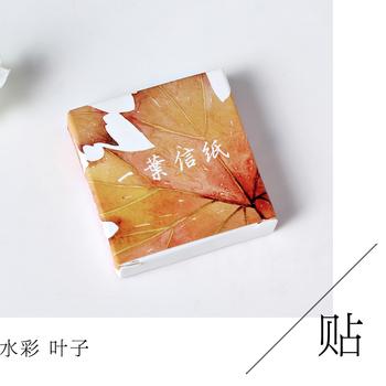 五个包邮 多肉控星空猫咪和风宫崎骏盒装贴纸手账相册DIY装饰贴