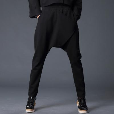 [今日特价] 2015秋冬季新款韩版女式士休闲个性嘻哈伦大吊裆飞鼠小脚长裤子潮