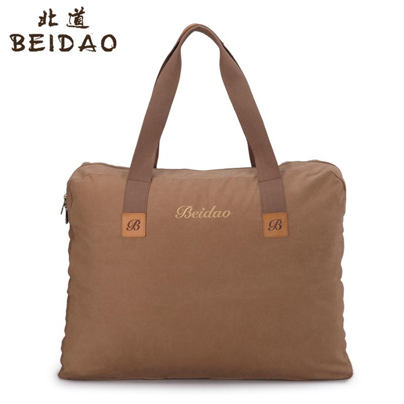 新款帆布包超大容量搬家包休闲旅行包户外托运行李包打工装被子包