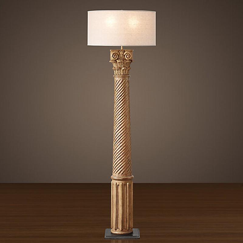 实木雕刻希腊柯林斯柱
