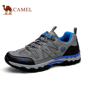 Camel骆驼户外运动休闲透气男鞋徒步鞋春季新款耐磨登山鞋男士鞋