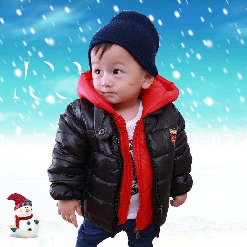 男童棉衣2014秋冬装新款儿童装外套婴幼儿宝宝韩版加厚棉袄棉服潮