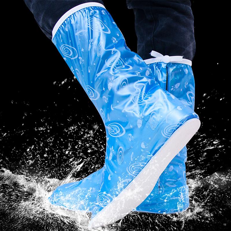 雨易思雨天加厚防滑耐磨防雨鞋套包邮男士时尚套鞋雨鞋套骑行旅游
