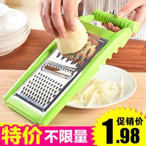 厨房切菜神器多功能手动切菜器家用刨丝器土豆丝切片切丝器
