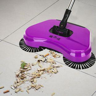 鹏硕手推式扫地机拖地一体机吸尘器懒人拖地簸箕扫把套装
