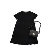 onepiece 棉质长款T恤  女人永远都需要的一条小黑裙