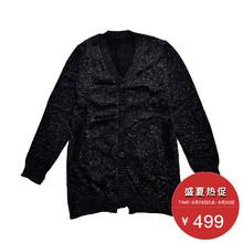 羊毛衫 气质单排扣V领开衫 JZ专柜官方正品 新款 2016冬装 玖姿集市店