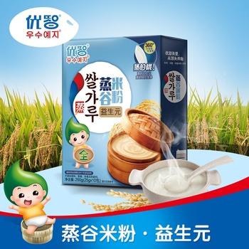 优智米粉全段婴儿营养辅食益生元宝宝米糊250g儿童婴幼儿蒸谷米粉