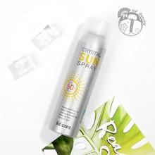 清爽防水150ml 韩国RECIPE水晶防晒喷雾霜SPF50透明保湿