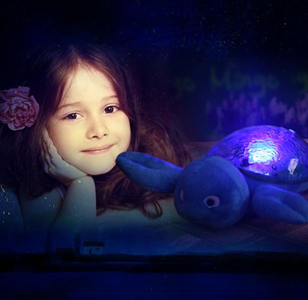 海洋投影海精灵投影投影灯海洋灯安睡灯星空浪漫礼物儿童睡眠投影