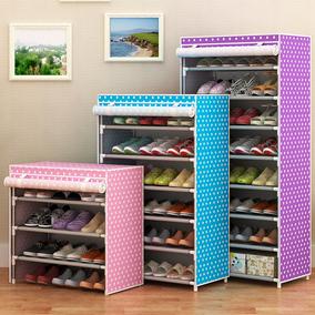简易鞋架特价家用组装鞋柜简约现代经济型宿舍收纳防尘多层鞋架子
