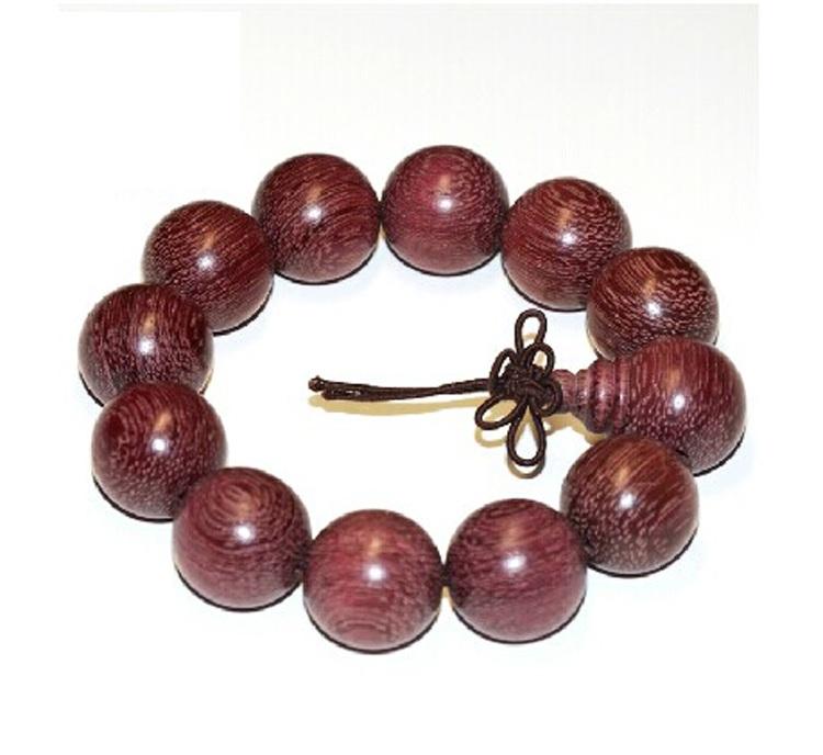 【巴西代购】紫玫瑰金丝楠木|佛珠手串手链|紫罗兰紫芯苏木|开光