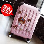 游乐者拉杆箱行李箱万向轮旅行箱子男女密码登机箱包20寸24寸28潮