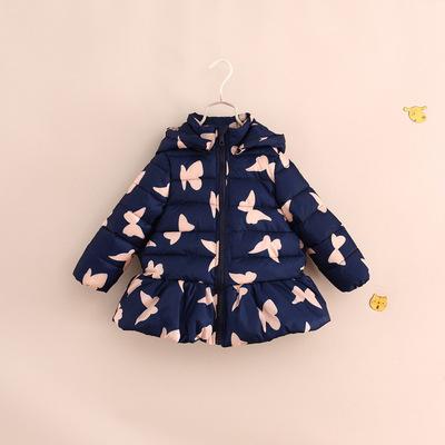 香港代购2015冬装新款ZARA童装女童宝宝棉服儿童时尚棉袄棉衣外套