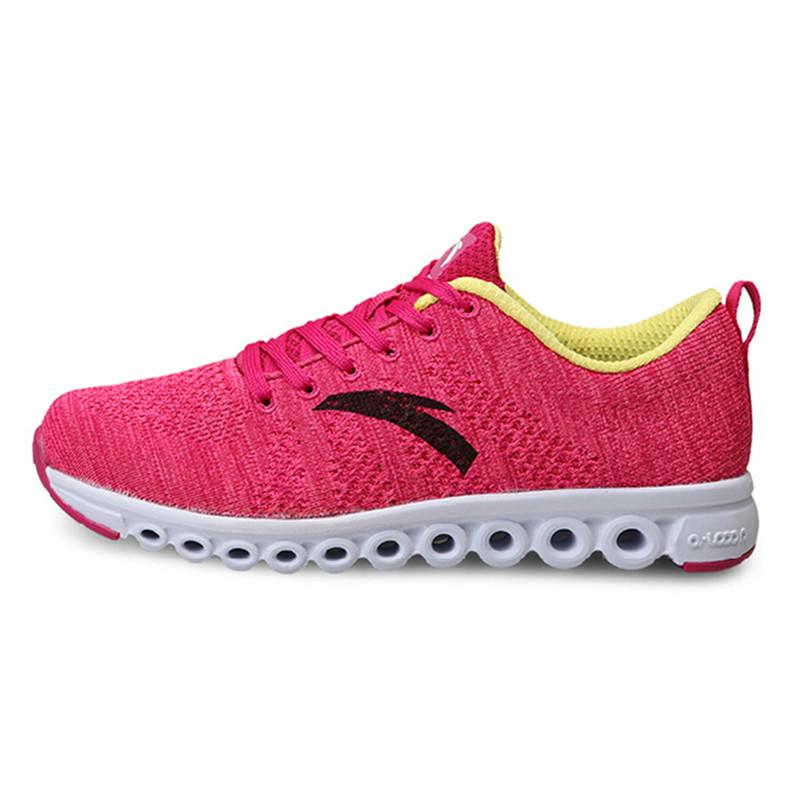 安踏跑步鞋女鞋2014冬季新款能量环跑鞋休闲鞋女运动鞋子12445517