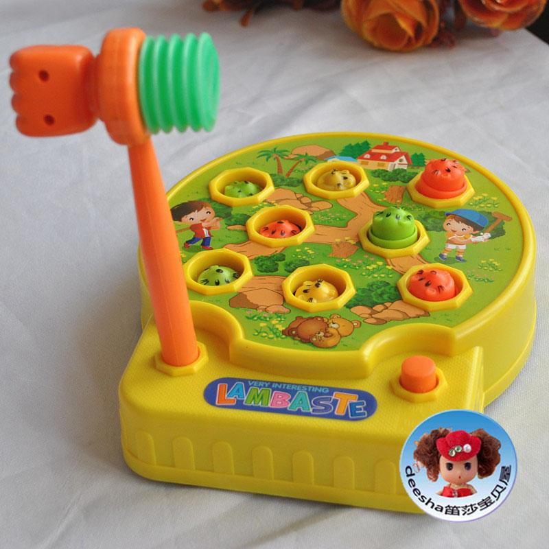 新版打地鼠游戏机益智玩具手眼协调锻炼手指灵活协调感知练习包邮