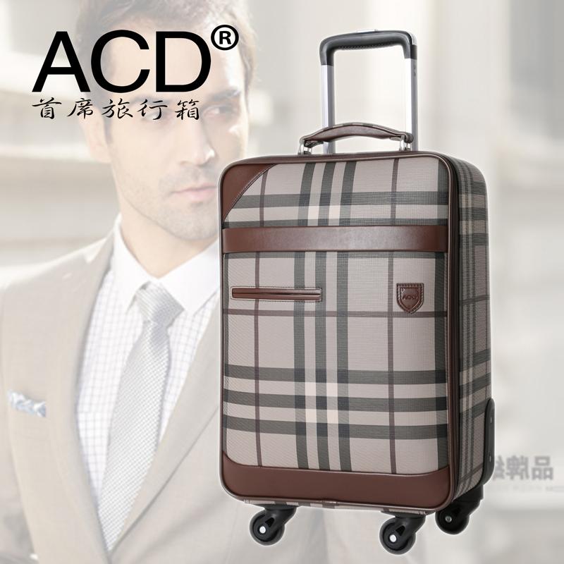 男女行李箱 登机箱皮箱20寸 拉杆箱万向轮旅行箱包 旅游密码箱子