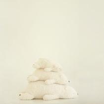 三只熊抱枕 抱抱熊生日礼物创意女生毛绒玩偶公仔 日本备长炭除臭