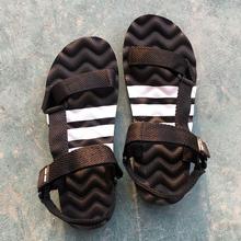 男士 按摩底拖鞋 COLOR夏季休闲罗马鞋 潮流凉鞋 男防滑沙滩鞋 SUNNY