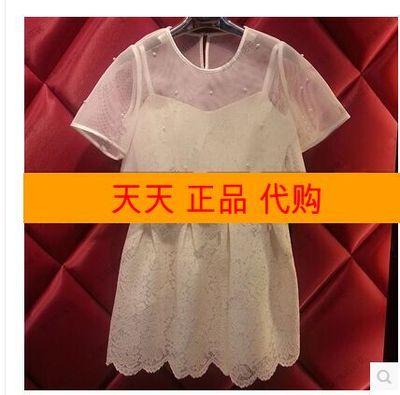 专柜正品2015春夏款COCOON可可尼2513020112E¥3688连衣裙代购2