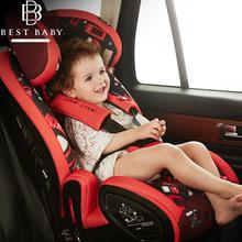 bestbaby儿童安全座椅汽车用婴儿车载坐椅9个月-12岁isofix硬接口图片