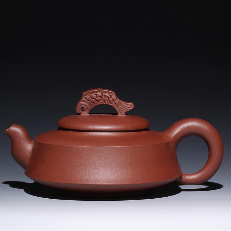 宜兴紫砂壶鱼跃龙门原矿紫砂泥名家正品工艺茶壶茶杯茶宠特价促销