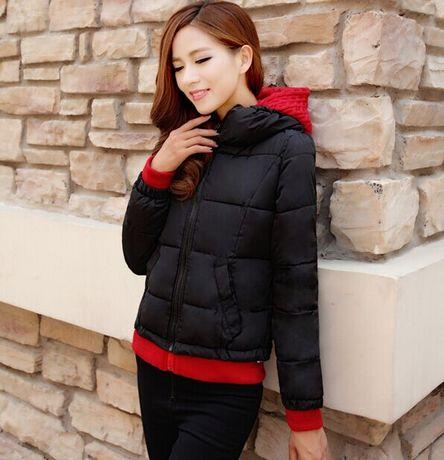 冬季新款韩版修身短款连帽羽绒棉女FL-A1070A-1330-8100
