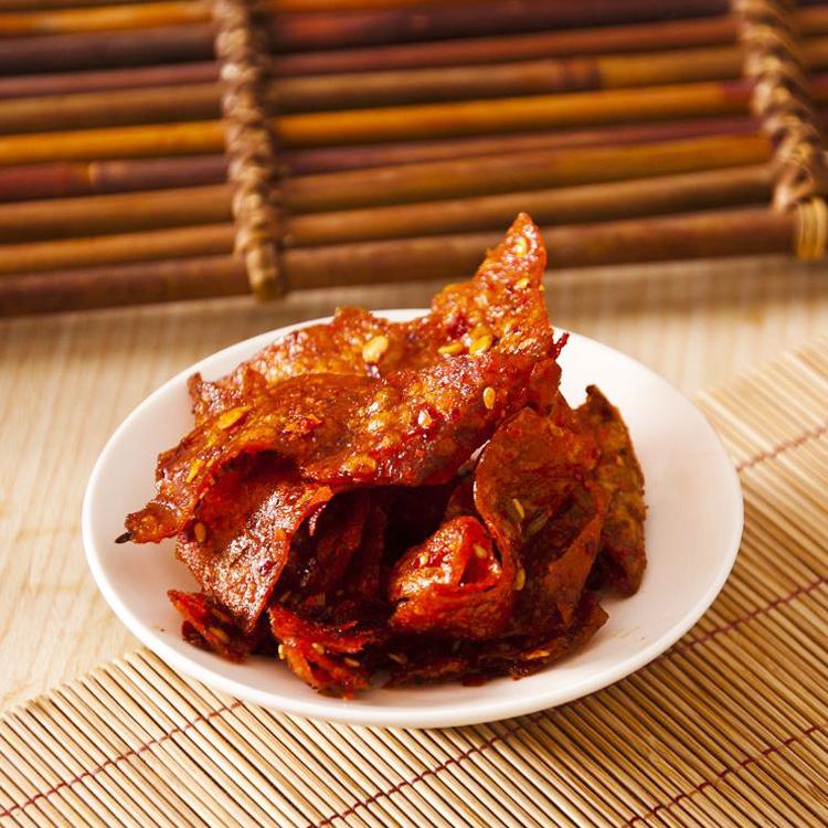 湖南特产 长沙步步为赢 片片香 豆腐皮  麻辣片 100g