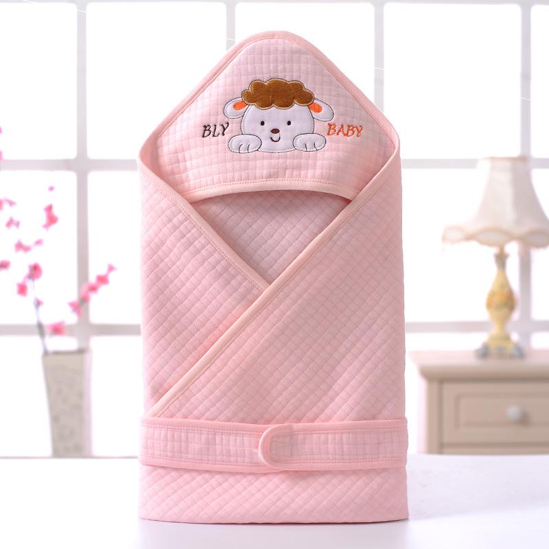婴幼儿包被抱毯防踢四季新生儿保暖纯棉睡袋用品
