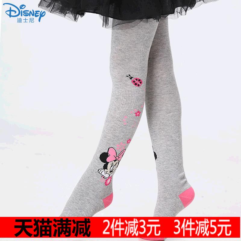 儿童连裤袜 2条包邮迪士尼2014秋冬新款女童连袜 儿童女打底裤袜