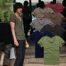 洞洞清凉男短袖 T恤 个性 疯抢 韩式时尚 城市猎人李民浩明星同款 特价