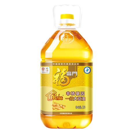 【天猫超市】福临门非转基因一级大豆油 5L/桶  健康食用油