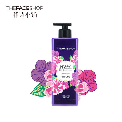 The Faceshop菲诗小铺 浪漫邂逅香水沐浴露 500ml