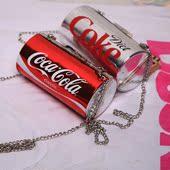 2017夏新款个性可口可乐包女易拉罐包单肩链条包可乐瓶斜挎小包包