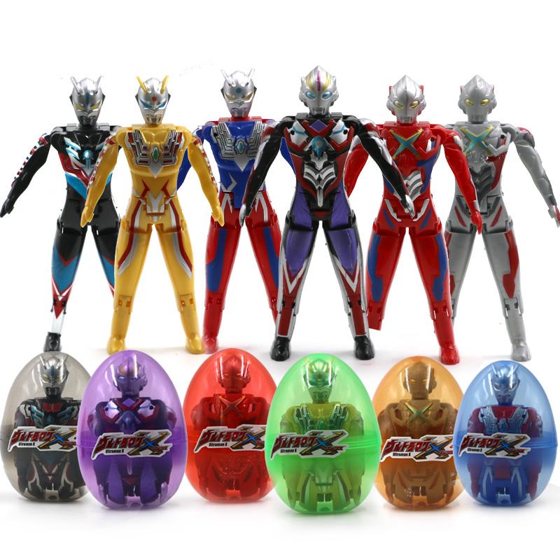 正版奥特蛋赛罗奥特曼蛋玩具变形蛋奥特曼超人会动变形机器人玩具